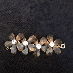 J. Crew Jewelry - J. Crew floral bracelet